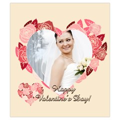 Love By Ki Ki   Drawstring Pouch (small)   Zaj88wd9w3lm   Www Artscow Com Back