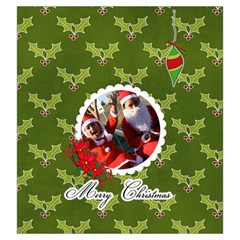 Drawstring Pouch: (l) Merry Christmas2 By Jennyl   Drawstring Pouch (large)   6wn464ziat2q   Www Artscow Com Front