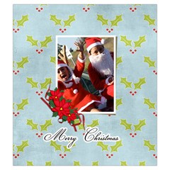 Drawstring Pouch (m): Merry Christmas3 By Jennyl   Drawstring Pouch (medium)   Bt5p1zs7cif6   Www Artscow Com Back