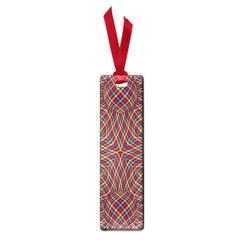 Trippy Tartan Small Bookmark by SaraThePixelPixie