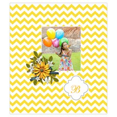 Drawstring Pouch (s) : Chevron Yellow By Jennyl   Drawstring Pouch (small)   Uimb4owd5eyv   Www Artscow Com Front