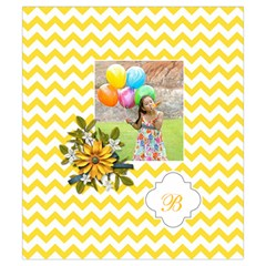 Drawstring Pouch (s) : Chevron Yellow By Jennyl   Drawstring Pouch (small)   Uimb4owd5eyv   Www Artscow Com Back