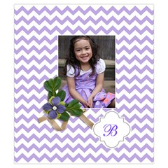 Drawstring Pouch (s) : Chevron Violet By Jennyl   Drawstring Pouch (small)   43d9k64bmycg   Www Artscow Com Front