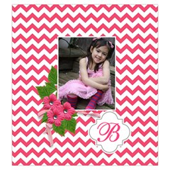 Drawstring Pouch (l): Chevron Pink By Jennyl   Drawstring Pouch (large)   28t82901gdx0   Www Artscow Com Back