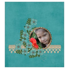 Drawstring Pouch (l): Flower Garden By Jennyl   Drawstring Pouch (large)   Ge1tgfzztg3o   Www Artscow Com Front
