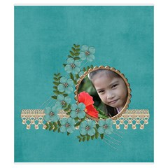 Drawstring Pouch (s) : Flower Garden By Jennyl   Drawstring Pouch (small)   6axkf3ejh5a6   Www Artscow Com Front