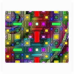 Abstract Modern Glasses Cloth (Small, Two Sided) by StuffOrSomething