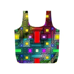 Abstract Modern Reusable Bag (s) by StuffOrSomething