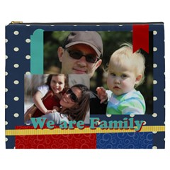 Family By Family   Cosmetic Bag (xxxl)   0f5f9dl50aqb   Www Artscow Com Front