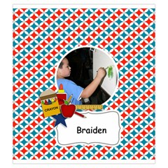 Drawstring Pouch (m): School Stuff2 By Jennyl   Drawstring Pouch (medium)   5qvwd193da9b   Www Artscow Com Back