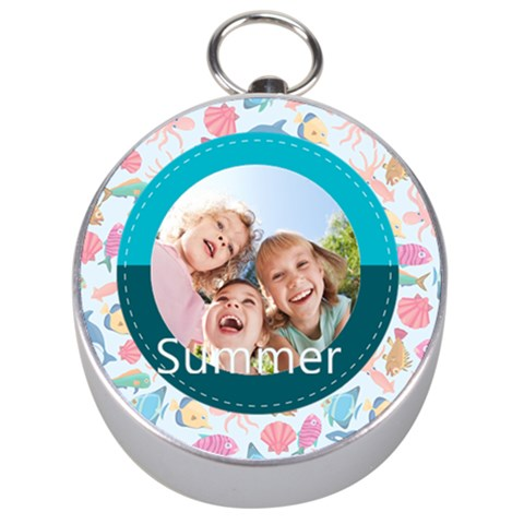 Summer By Summer Time    Silver Compass   2umahg0tpcy6   Www Artscow Com Front