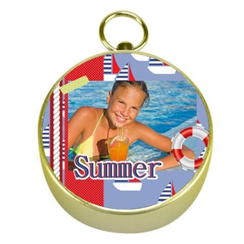 Summer By Summer Time    Gold Compass   83wr4avemn1d   Www Artscow Com Front