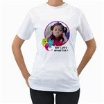 Women s T-shirt 2 -sided - Women s T-Shirt (White) (Two Sided)