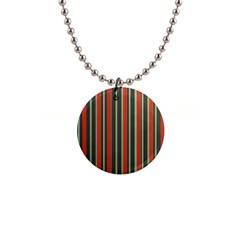 Festive Stripe Button Necklace by Colorfulart23