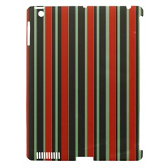 Festive Stripe Apple Ipad 3/4 Hardshell Case (compatible With Smart Cover) by Colorfulart23