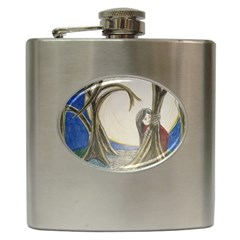 Beware Of Strangers (2) Hip Flask