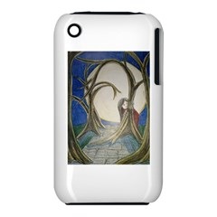 Beware Of Strangers (2) Apple iPhone 3G/3GS Hardshell Case (PC+Silicone) by MidnightBlueFrog