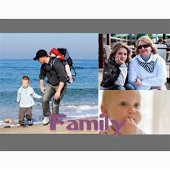 Family By Family   Wall Calendar 11  X 8 5  (12 Months)   Y9dzizq9lhdq   Www Artscow Com Month