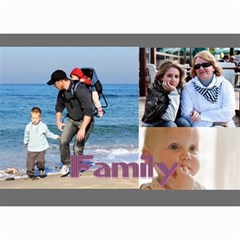 Family By Family   Wall Calendar 8 5  X 6    Xc43ng0pnztv   Www Artscow Com Month