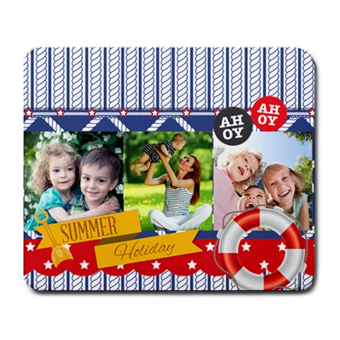 Summer By Summer Time    Collage Mousepad   2547oi3q0s1e   Www Artscow Com 9.25 x7.75 Mousepad - 1