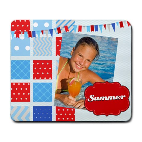 Summer By Summer Time    Collage Mousepad   Fpqgbrpifukk   Www Artscow Com 9.25 x7.75 Mousepad - 1