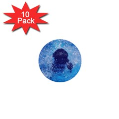 French Bulldog Swimming 1  Mini Button (10 Pack) by StuffOrSomething