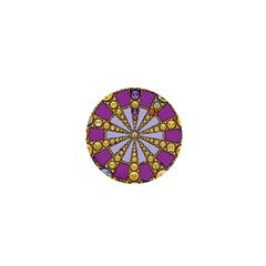 Circle Of Emotions 1  Mini Button by FunWithFibro