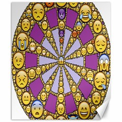 Circle Of Emotions Canvas 8  X 10  (unframed) by FunWithFibro