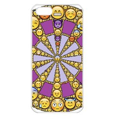 Circle Of Emotions Apple Iphone 5 Seamless Case (white) by FunWithFibro