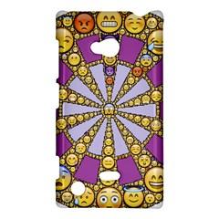 Circle Of Emotions Nokia Lumia 720 Hardshell Case by FunWithFibro