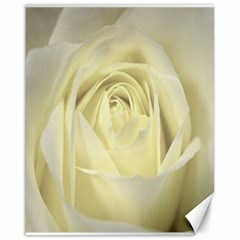 Cream Rose Canvas 16  X 20  (unframed) by Colorfulart23