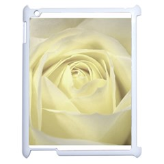Cream Rose Apple Ipad 2 Case (white) by Colorfulart23