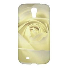 Cream Rose Samsung Galaxy S4 I9500/i9505 Hardshell Case by Colorfulart23