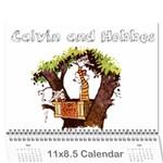 Calendar - Calvin And Hobbes - Wall Calendar 11  x 8.5  (12-Months)