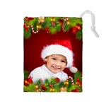 Christmas Drawstring Pouch (large)