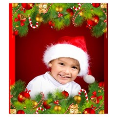 Christmas Drawstring Pouch (medium) By Deborah   Drawstring Pouch (medium)   Erzswe5ubl2v   Www Artscow Com Front