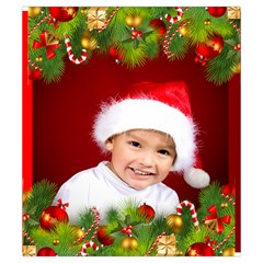 Christmas Drawstring Pouch (small) By Deborah   Drawstring Pouch (small)   Cq02jeq80z8v   Www Artscow Com Back