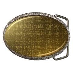 Gold Belt Buckle (Oval)