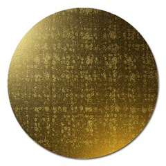 Gold Magnet 5  (Round) by Colorfulart23
