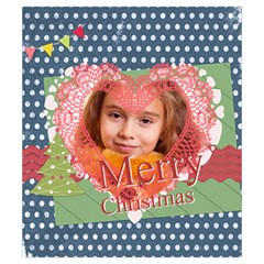 Christmas By Joely   Drawstring Pouch (small)   P558ajv7fro6   Www Artscow Com Back
