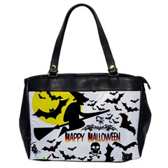 Happy Halloween Collage Oversize Office Handbag (one Side) by StuffOrSomething