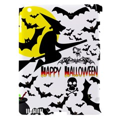 Happy Halloween Collage Apple Ipad 3/4 Hardshell Case (compatible With Smart Cover) by StuffOrSomething