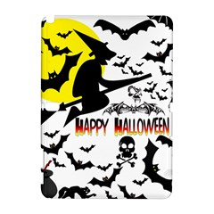 Happy Halloween Collage Samsung Galaxy Note 10 1 (p600) Hardshell Case by StuffOrSomething