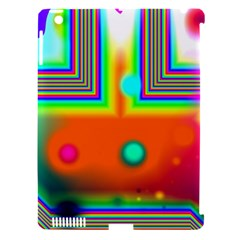 Crossroads Of Awakening, Abstract Rainbow Doorway  Apple Ipad 3/4 Hardshell Case (compatible With Smart Cover) by DianeClancy