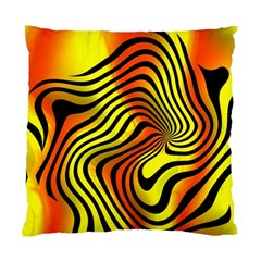 Colored Zebra Cushion Case (two Sided)  by Colorfulart23