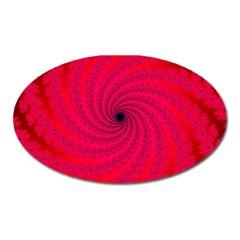 Fracrtal Magnet (oval) by UROCKtheWorldDesign
