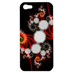 Mysterious Dance In Orange, Gold, White In Joy Apple Iphone 5 Hardshell Case by DianeClancy