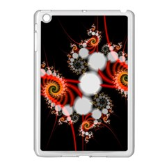 Mysterious Dance In Orange, Gold, White In Joy Apple Ipad Mini Case (white) by DianeClancy