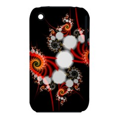 Mysterious Dance In Orange, Gold, White In Joy Apple Iphone 3g/3gs Hardshell Case (pc+silicone) by DianeClancy