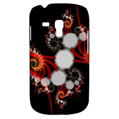 Mysterious Dance In Orange, Gold, White In Joy Samsung Galaxy S3 Mini I8190 Hardshell Case by DianeClancy